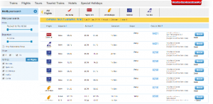 IRCTC online flight Tickets Booking Process 1