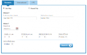 IRCTC online flight Tickets Booking Process