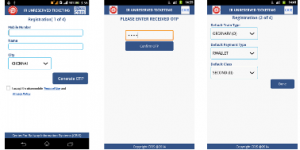 irctc Android App registration ticket Booking PRocess 1