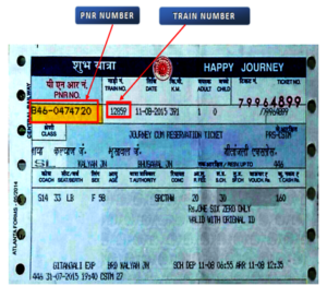 Railway Counter ticket cancellation